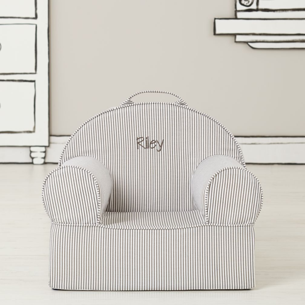 Entry Level Personalized Nod Chair (Grey Stripe)