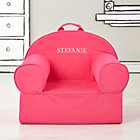 Personalized Pink Nod Chair CoverFree embroidered personalization