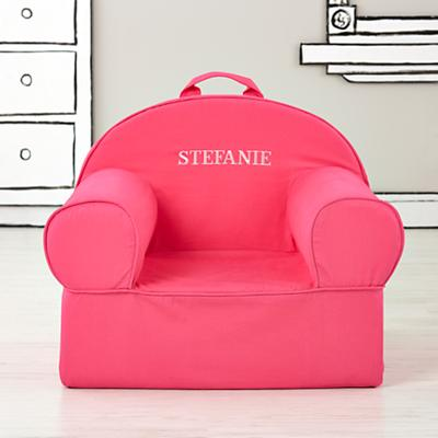 Executive Personalized Nod Chair Cover (Pink)