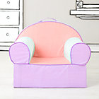 Pink Piece Stripe Nod Chair(Includes Cover and Insert)