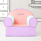 Personalized Pink Piece Stripe Nod Chair(Includes Cover and Insert)