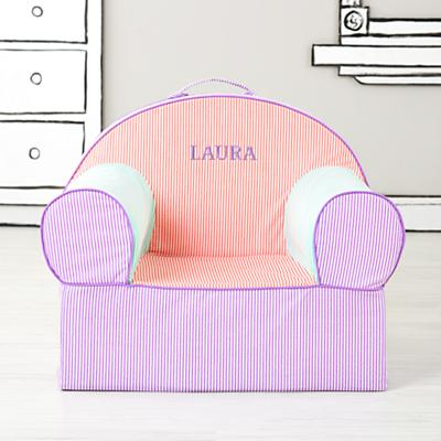 Executive Nod Chair (Pink Piece Stripe)