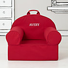 Personalized Red Nod Chair Cover