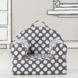 Personalized Entry Level Nod Chair Cover (Grey Dot)
