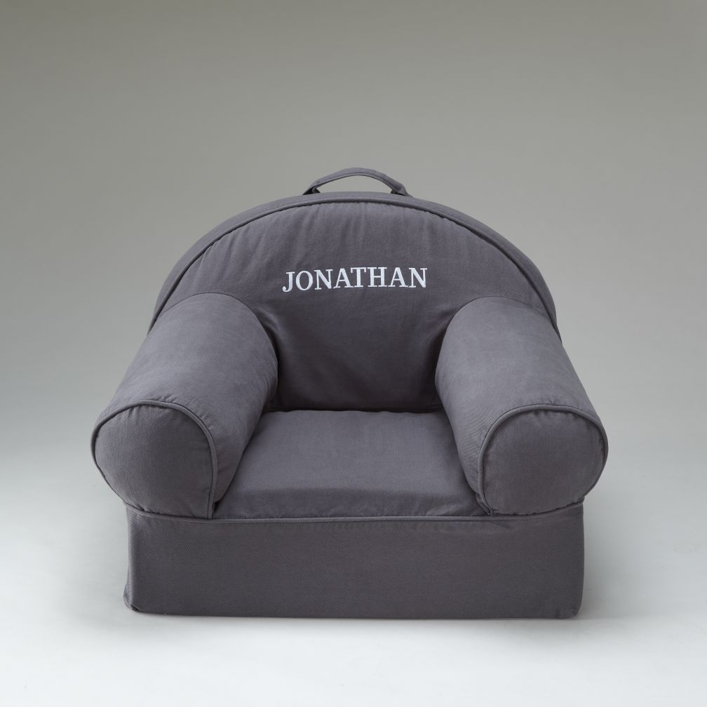 Personalized Grey Nod Chair