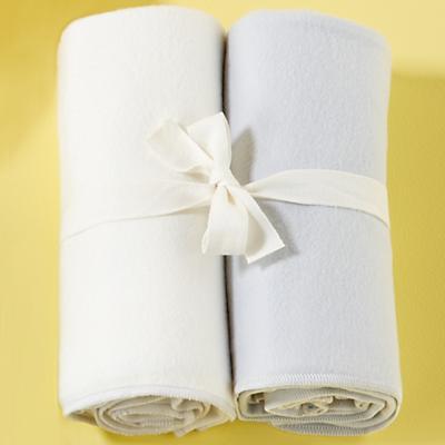 Wrap It Up Organic Swaddling Blankets (Lt. Blue)
