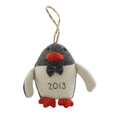 Baby's First Christmas Ornament (Penguin)