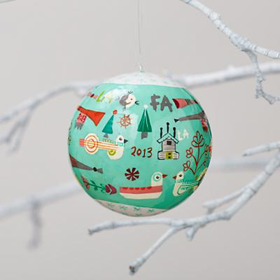 A Very Good Year Ornament 2013