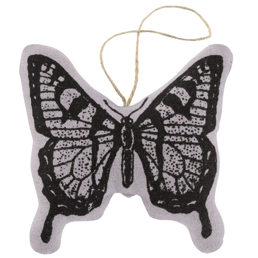 Butterfly Cotton Stamp Ornament