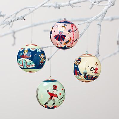 Nutcracker Ornaments (Set of 4)