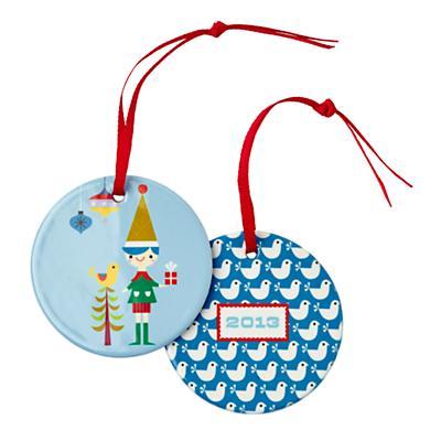 You Name It Ornament by Suzy Ultman (Boy Elf)