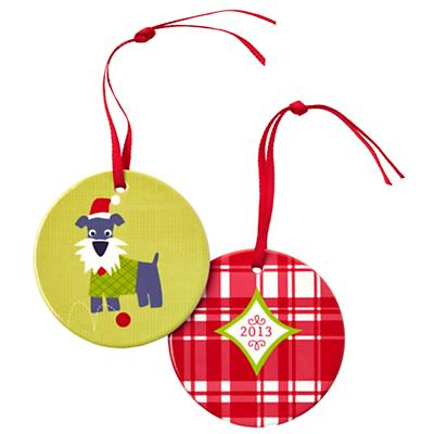 You Name It Ornament by Vicky Barone (Scottie Dog)