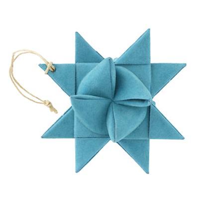 Lt. Blue Supernova Ornament