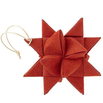 Red Supernova Ornament