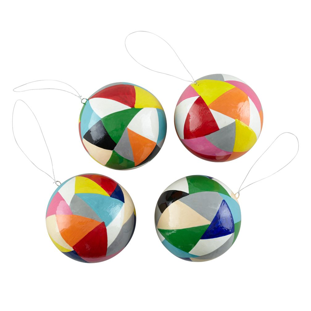 Polygon Ornaments (Set of 4)