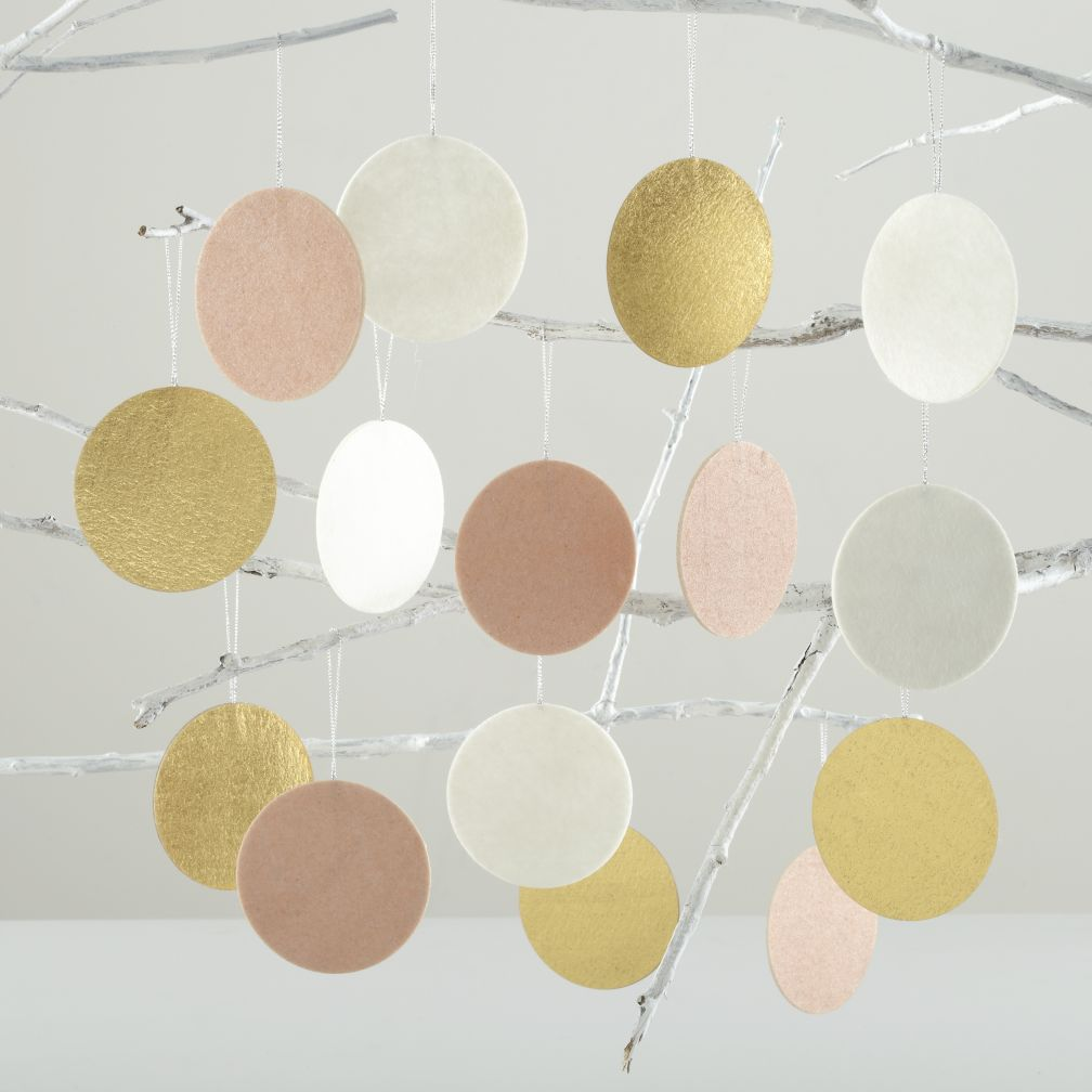 Dot, Dot, Dot Decor (Pink, Gold, and White)