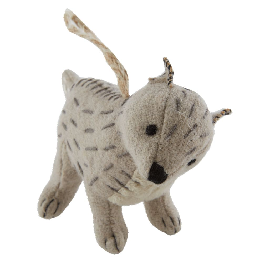 Winterland Plush Animal Ornament (Fox)