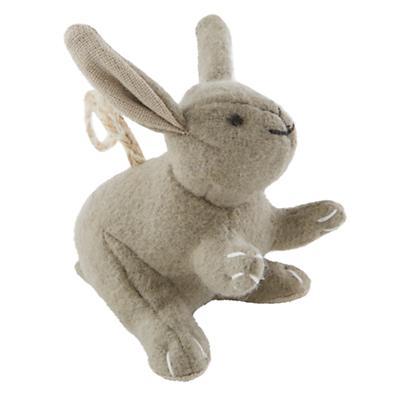 Winterland Plush Animal Ornament (Rabbit)