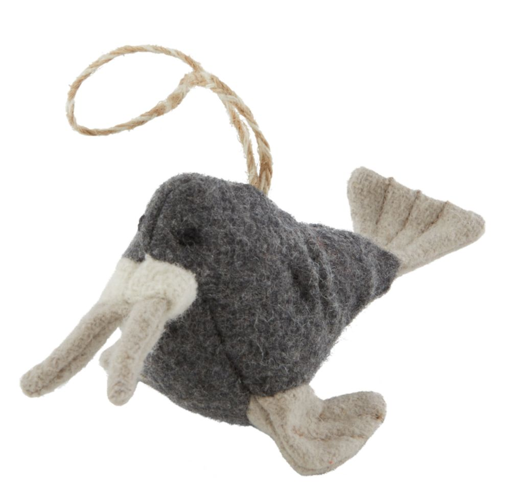 Winterland Plush Animal Ornament (Walrus)