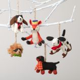 Woodland Prep Animal Ornament