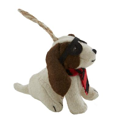 Ornament_Woodland_Basset_Hound_LL_143200