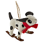 Dalmation Woodland Prep Ornament
