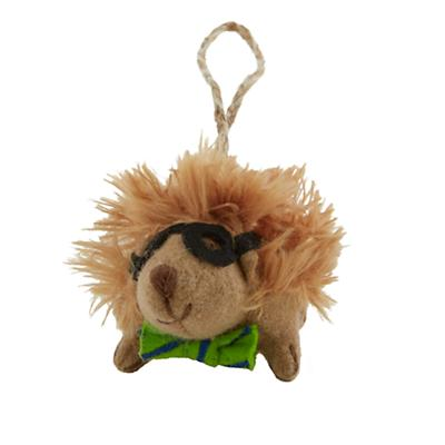 Woodland Prep Ornament (Hedgehog)