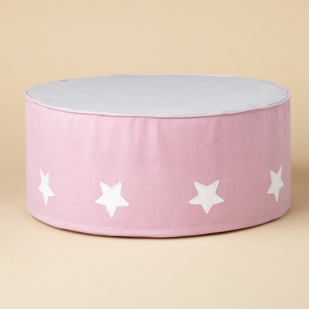 Noddoman Ottoman (Pink Circus)