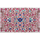 4 x 6&amp;#39; Pink Garden Floral Rug