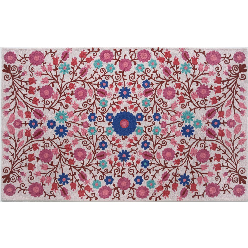 8 x 10' Better Floors and Gardens Rug (Pink)