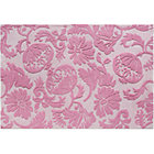 4 x 6&amp;#39; Pink Raised Floral Rug