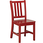 "Tomato Red Parker Play ChairFloor to Seat: 14"" H"