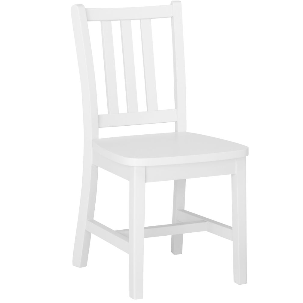 "White Parker Play Chair<br />Floor to Seat: 14"" H <br/>"