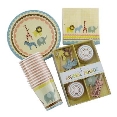 Animal Parade Basic Party Kit
