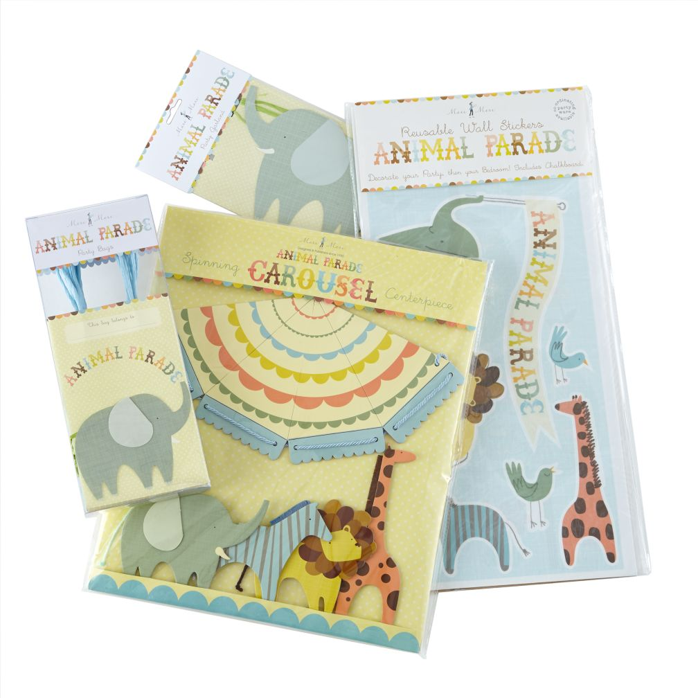 Animal Parade Deluxe Party Kit