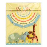 Animal Parade Party Carousel Centerpiece