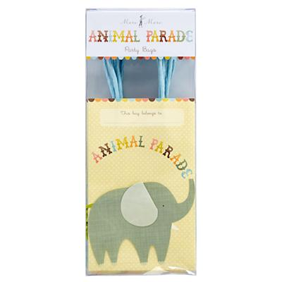 Animal Parade Party Bags (Set of 8)
