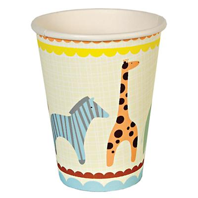 Animal Parade Party Cups (Set of 12)
