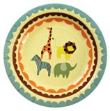 Animal Parade Party Plates (Set of 12)