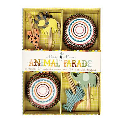 Animal Parade Cupcake Kit (Set of 24)