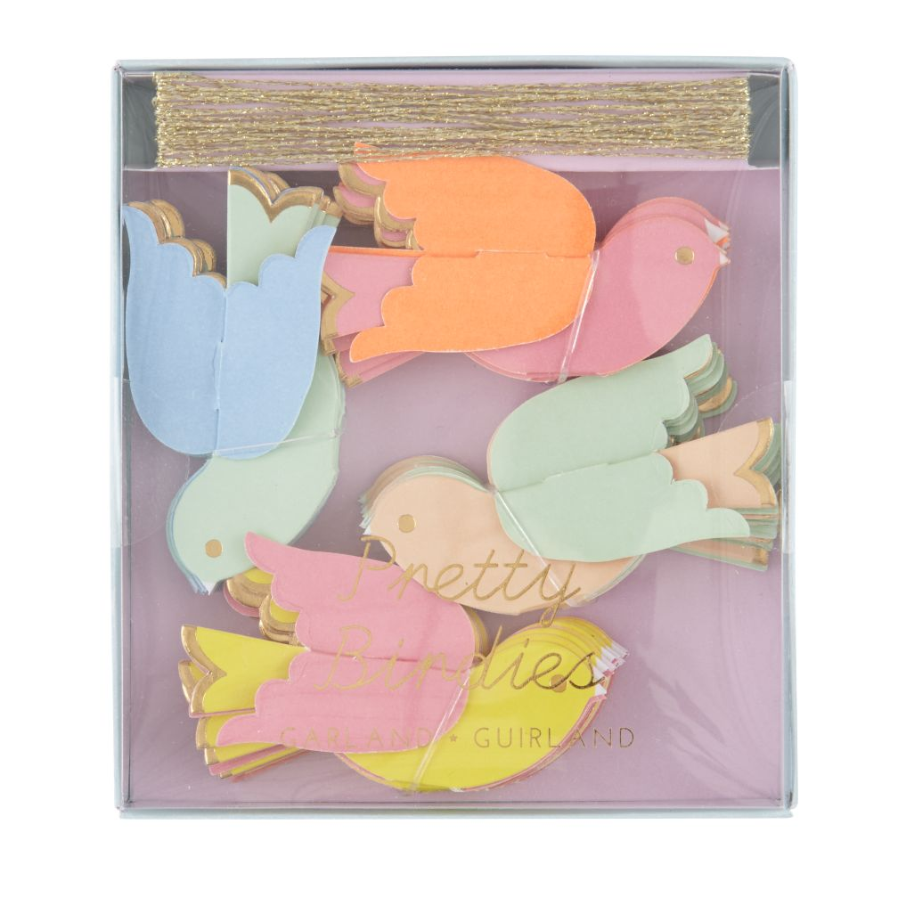 Toot Sweet Pretty Birdies Party Garland