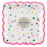 Toot Sweet Charms Large Party Plates