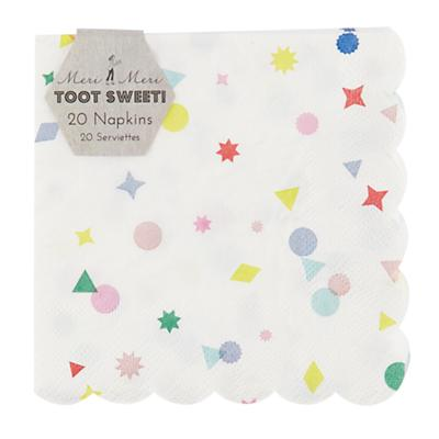 Toot Sweet Charms Napkins (Set of 20)