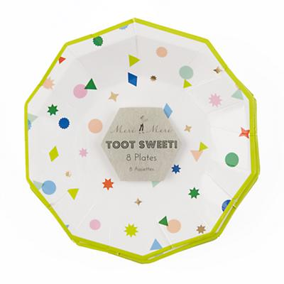 Toot Sweet Charms Small Plates (Set of 8)