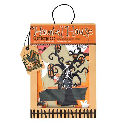 Halloween Haunted House Centerpiece