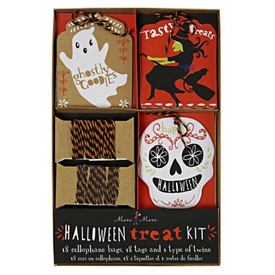 Halloween Treat Bag Kit (Set of 18)