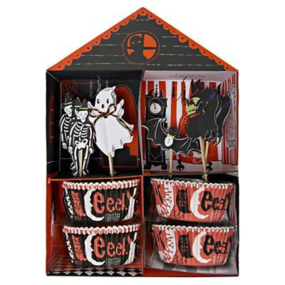 Halloween Cupcake Kit (Set of 24)