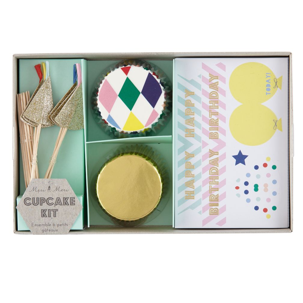 Toot Sweet Harlequin Cupcake Kit