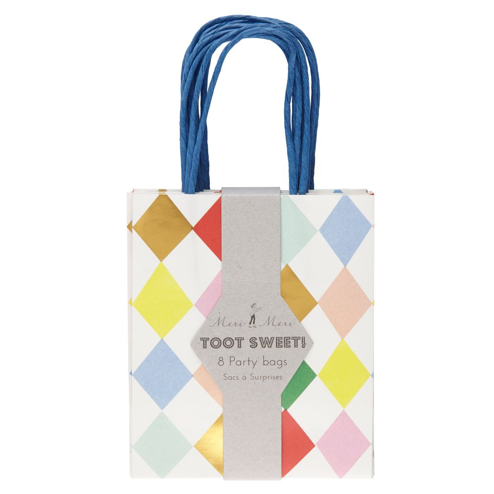 Toot Sweet Harlequin Party Bags