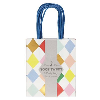 Toot Sweet Harlequin Party Bags (Set of 8)